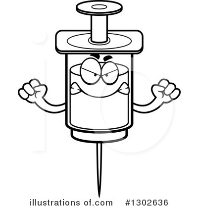 Syringe Clipart #1302636 by Cory Thoman