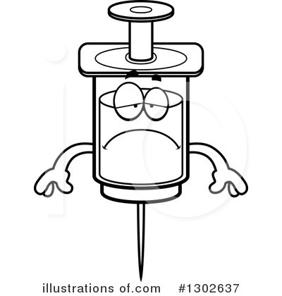 Syringe Clipart #1302637 by Cory Thoman