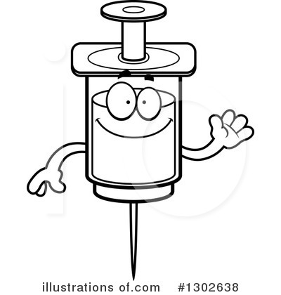 Syringe Clipart #1302638 by Cory Thoman