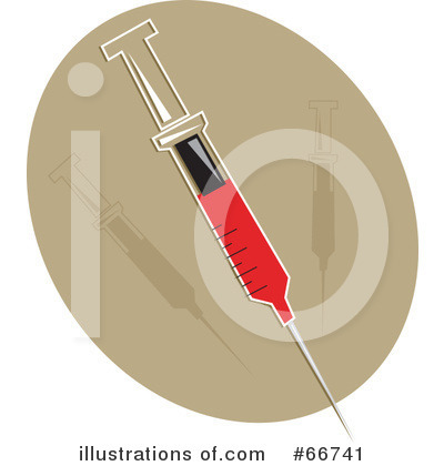 Royalty-Free (RF) Syringe Clipart Illustration by Prawny - Stock Sample #66741