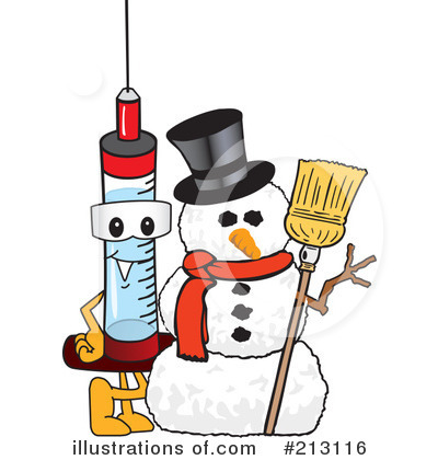 Syringe Mascot Clipart #213116 by Toons4Biz