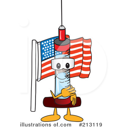 Syringe Mascot Clipart #213119 by Toons4Biz