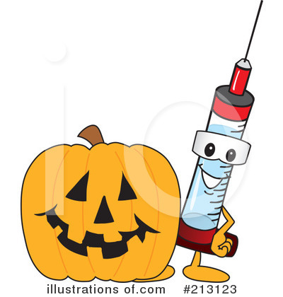 Syringe Mascot Clipart #213123 by Toons4Biz