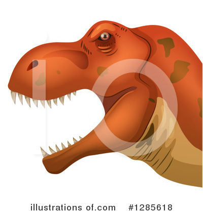Dinosaur Clipart #1285618 by Graphics RF