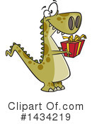T Rex Clipart #1434219 by toonaday