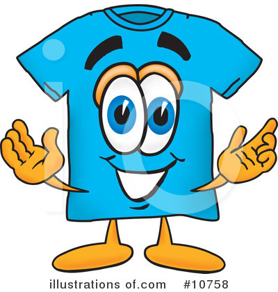 T Shirt Clipart #10758 by Toons4Biz