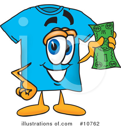 T Shirt Clipart #10762 by Toons4Biz