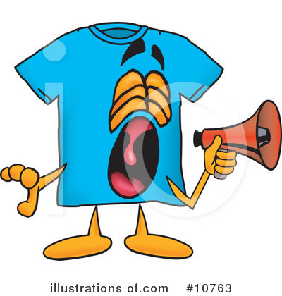 T Shirt Clipart #10763 by Toons4Biz