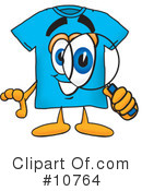 T Shirt Clipart #10764 by Toons4Biz