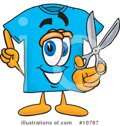 T Shirt Clipart #10767 by Toons4Biz