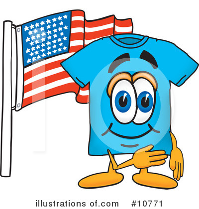 T Shirt Clipart #10771 by Toons4Biz
