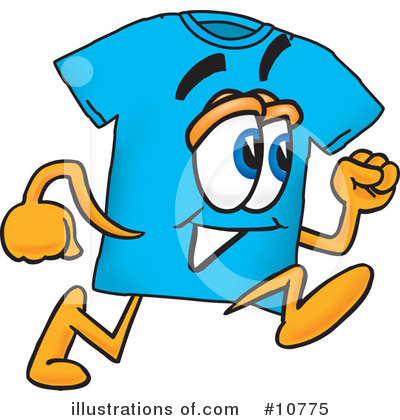 Royalty-Free (RF) T Shirt Clipart Illustration by Toons4Biz - Stock Sample #10775