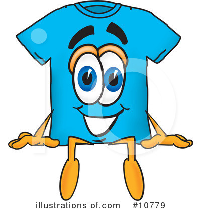 T Shirt Clipart #10779 by Toons4Biz
