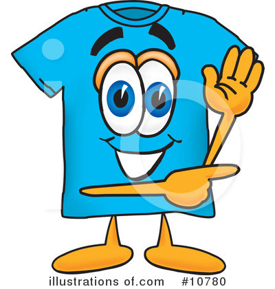 T Shirt Clipart #10780 by Toons4Biz