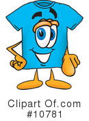 T Shirt Clipart #10781 by Toons4Biz