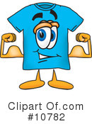 T Shirt Clipart #10782 by Toons4Biz