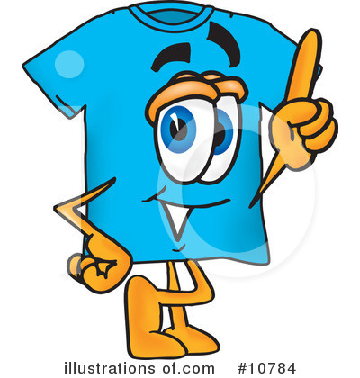 T Shirt Clipart #10784 by Toons4Biz