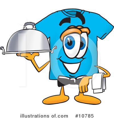T Shirt Clipart #10785 by Toons4Biz
