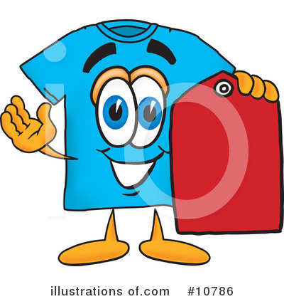 T Shirt Clipart #10786 by Toons4Biz