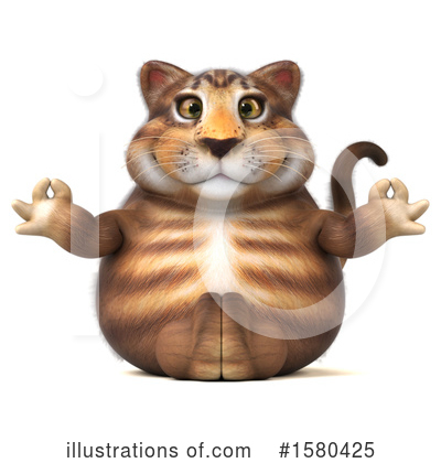 Tabby Cat Clipart #1580425 by Julos