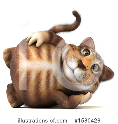 Tabby Cat Clipart #1580426 by Julos