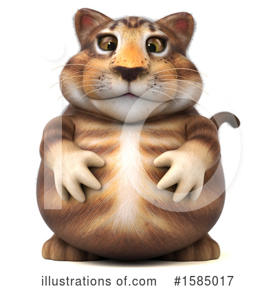 Tabby Cat Clipart #1585017 by Julos