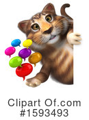 Tabby Cat Clipart #1593493 by Julos