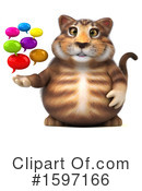 Tabby Cat Clipart #1597166 by Julos