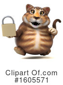 Tabby Cat Clipart #1605571 by Julos