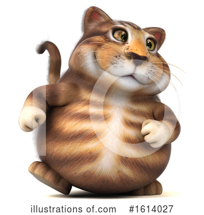 Tabby Cat Clipart #1614027 by Julos