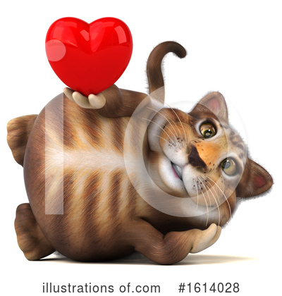 Tabby Cat Clipart #1614028 by Julos