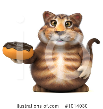 Tabby Cat Clipart #1614030 by Julos