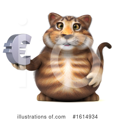 Tabby Cat Clipart #1614934 by Julos