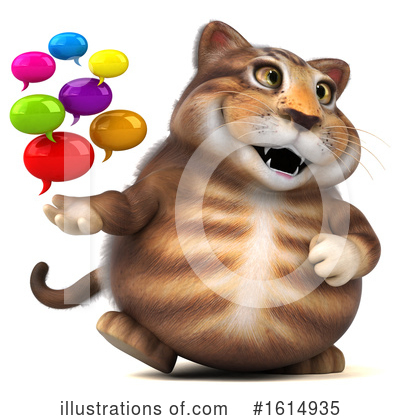 Tabby Cat Clipart #1614935 by Julos