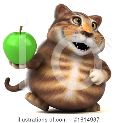 Tabby Cat Clipart #1614937 by Julos