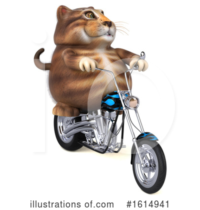 Tabby Cat Clipart #1614941 by Julos