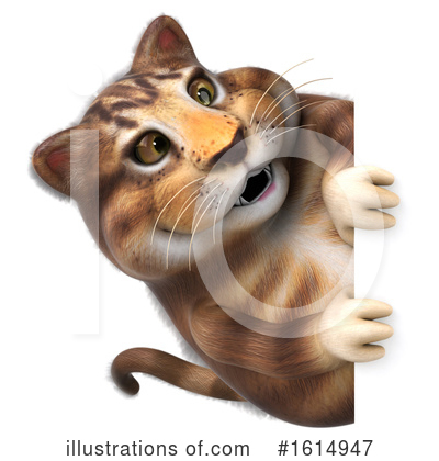 Tabby Cat Clipart #1614947 by Julos