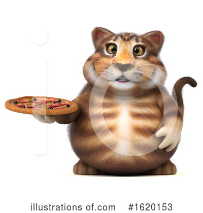Tabby Cat Clipart #1620153 by Julos