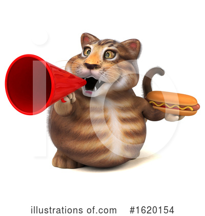 Tabby Cat Clipart #1620154 by Julos