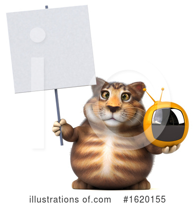 Tabby Cat Clipart #1620155 by Julos