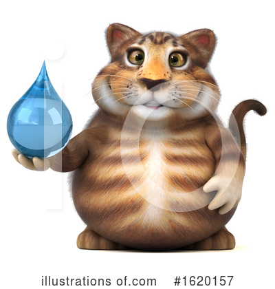 Tabby Cat Clipart #1620157 by Julos