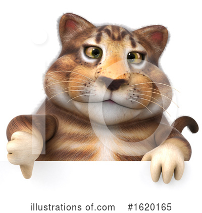 Tabby Cat Clipart #1620165 by Julos
