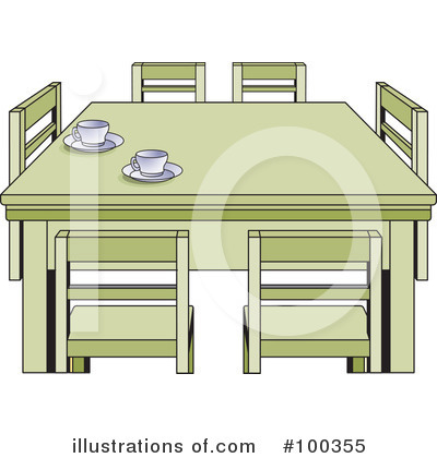 Furniture Clipart #100355 by Lal Perera