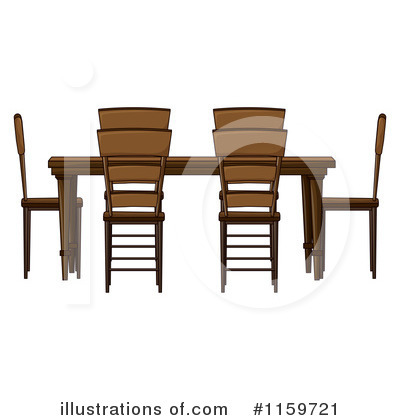 Furniture Clipart #1159721 by Graphics RF