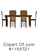 Table Clipart #1159721 by Graphics RF