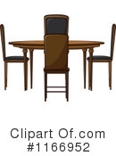Royalty-Free (RF) table Clipart Illustration #1166952