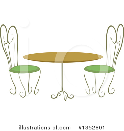 Royalty-Free (RF) Table Clipart Illustration by BNP Design Studio - Stock Sample #1352801