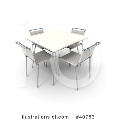 More Clip Art Illustrations of Table