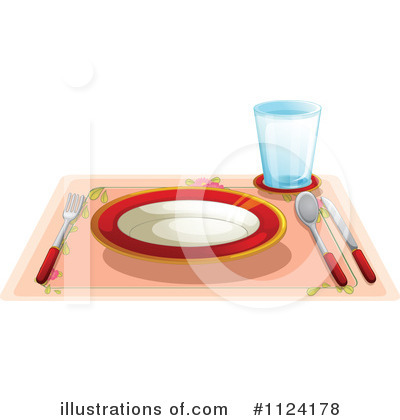 Plate Clipart #1124178 by Graphics RF