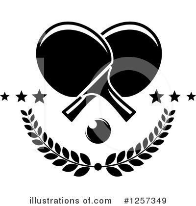Ping Pong Clipart #1257349 by Vector Tradition SM